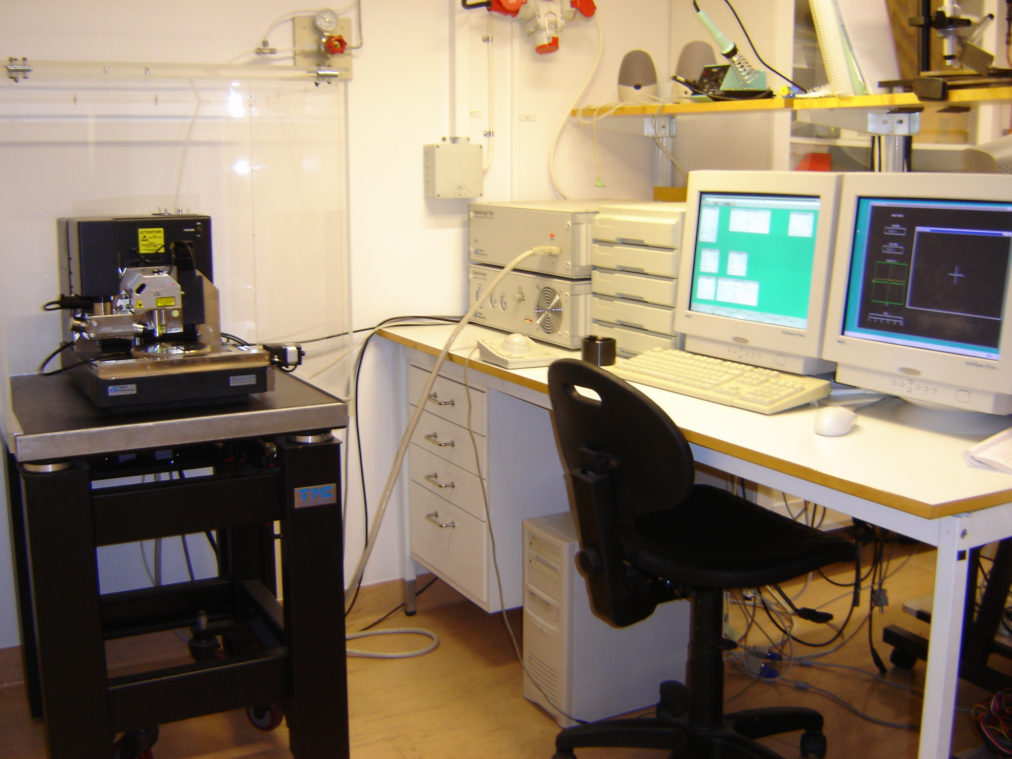 Picture of AFM/SSRM