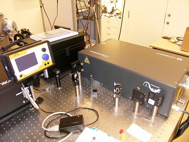 Picture of Fs Laser system 2